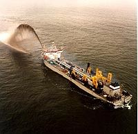 Vasco da Gama - largest dredger of the world